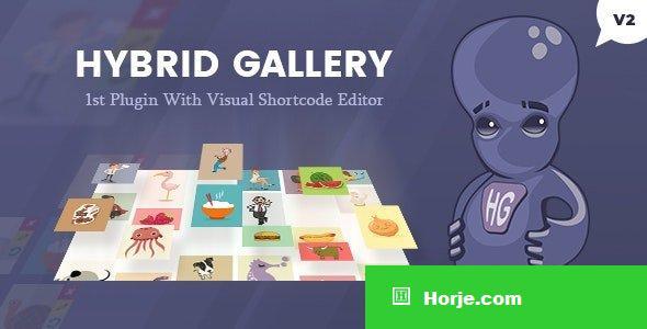 Hybrid Gallery v2.1 - Visual Gallery Plugin for WordPress