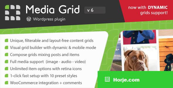 Media Grid v6.491 - Wordpress Responsive Portfolio