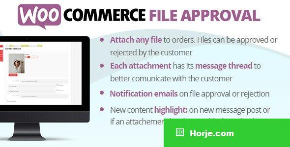 WooCommerce File Approval v1.1.1