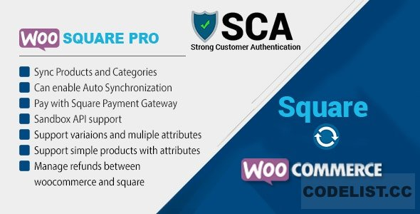 WooSquare Pro v6.8 - Square For WooCommerce