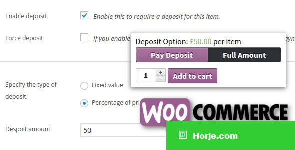 WooCommerce Deposits v3.0.0 - Partial Payments Plugin