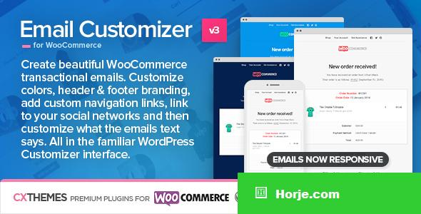 Email Customizer for WooCommerce v3.19