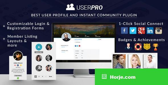 UserPro v4.9.28 - User Profiles with Social Login
