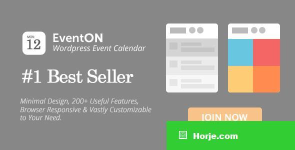 EventOn v2.6.13 - WordPress Event Calendar Plugin