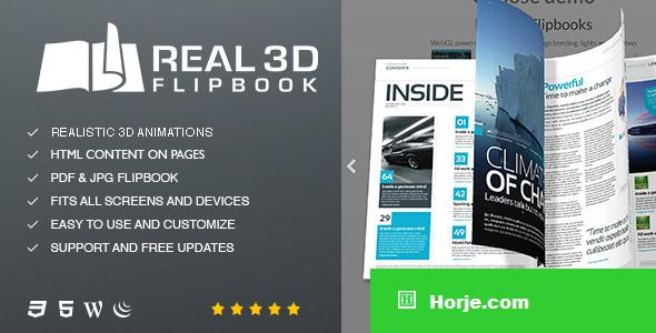 Real3D FlipBook v3.4.13 - WordPress Plugin