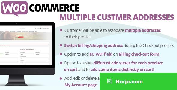 WooCommerce Multiple Customer Addresses v11.1