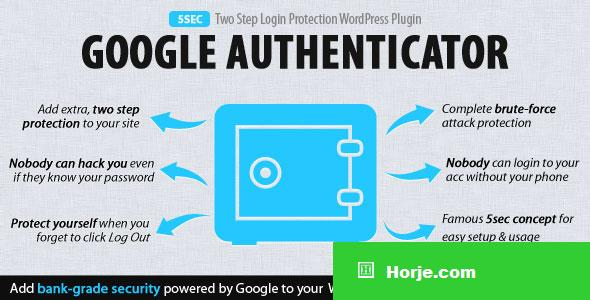 5sec Google Authenticator 2-Step Login Protection v1.2.0