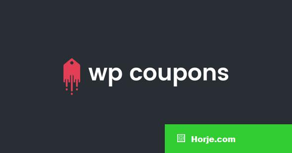 WP Coupons v1.7.5 - The #1 Coupon Plugin for WordPress